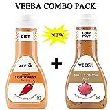 #2: VEEBA CHIPOTLE SOUTHWEST DRESSING & SWEET ONION COMBO PACK (PACK OF 2)