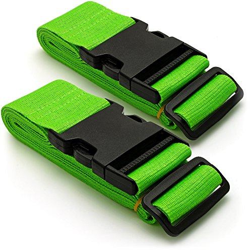 CampTeck U6746 Correas de Seguridad para Equipaje Maletas de Viaje Lar