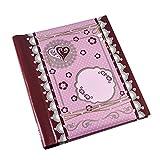 Arpan Tilda Style Hearts Fotoalbum, selbstklebend 20/Blatt 40/Seiten 27,4x 19,1cm–Groß Spirale Binder Foto Album