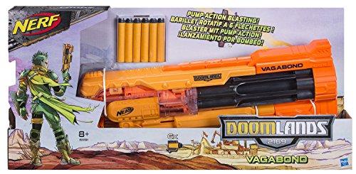 Nerf Doomlands 2169 Vagabond Hotshot Kit: 1 Vagabond + 30 Doomlands Darts -