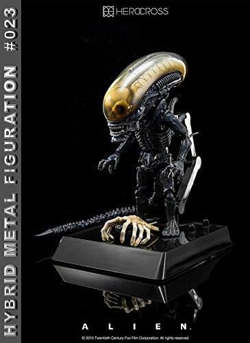 """[Configuracioen del metal hibrido """"Alien"""" # 023 altura extranjero de unos 14 centimetros pintado figura de accioen 2"""