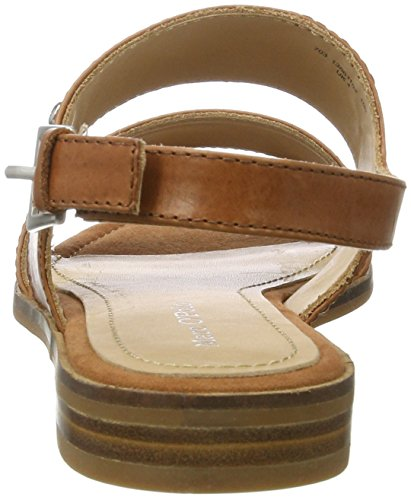 Marc O'Polo - 70313861102100 Sandal, Sandali Donna marrone (Cognac)