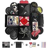YeeStone Explosion Box Creative DIY Photo Album Scrapbooking Gift Box for Birthday, Valentine,Anniversary, Wedding