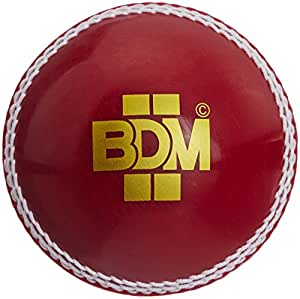 BDM Synthetic Incredible Hand Stitched Cricket Ball
