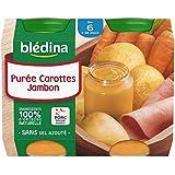 Blédina Carottes Jambon 2 x 200 g