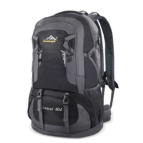 Imagen de 60l  de viaje ,bonibol  de senderismo impermeables  de camuflaje militar bolsa de deporte  de montaña alta capacidad bolso para acampar y viajar hombres mujeres chicas