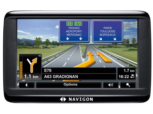 Navigon 40 EASY Navigationssystem ( 4.3 Zoll Display,starrer Monitor, 16:9,Kontinent-Ausschnitt )
