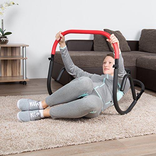 Ultrasport AB Trainer, Bauchtrainer / AB Roller – klappbar, leicht verstaubar - 5