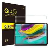 IVSO Protection écran en Vitre Tempered pour Samsung T720/T725 Galaxy Tab S5E, Protecteur d'Ecran en Vitre Tempered pour Samsung T720/T725 Galaxy Tab S5E (1 Pack)