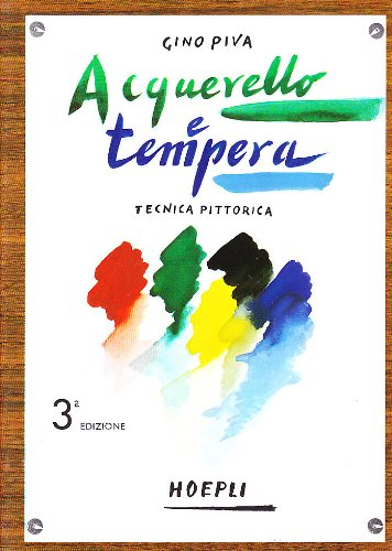 Tecnica pittorica: acquarello e tempera