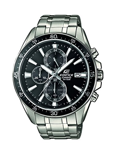 Casio-Edifice--Mens-Analogue-Watch-with-Stainless-Steel-Bracelet--EFR-546D-1AVUEF