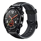 Huawei Watch GT Fitness Watch (1,39 Zoll Amoled Touchscreen GPS Fitness Tracker Herzfrequenzmessung, 5 ATM wasserdicht) schwarz