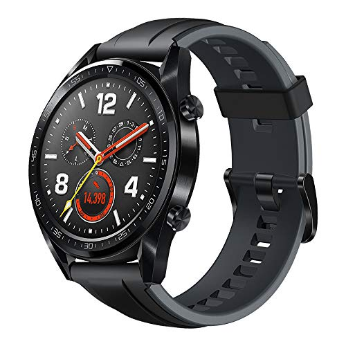 "Huawei Watch GT Active Smartwatch, Display Touch 1.39"" AMOLED, Fitness Tracker con GPS, Rilevazione Battito Cardiaco, Resistente all'Acqua 5 ATM, Nero"