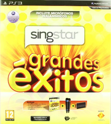 SONY - JUEGO PS3 - SINGSTAR GRANDES EXITOS + MICROFONOS WIRELESS (De Ps3 Juego)