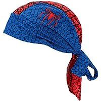 Docooler - Pañuelo de bicicleta, deportes, para el aire libre, bandana transpirable, secado rápido, pañuelo pirata, azul
