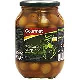 Gourmet Aceitunas Gazpacha, Verdes Aliñadas Extra - 500 g