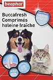 Beaphar - Buccafresh, comprimés haleine fraîche - hygiène bucco-dentaire - chien et chat - 40 comprimés