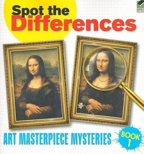 Spot the Differences Book 1: Art Masterpiece Mysteries (Dover Children's Activity Books) by Dover (2010-02-18)