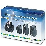 PHOENIX CONTACT Überspannungsschutz-Gerät-Set GEB-SET-T1/T2 TAE/TV-SAT, 2801022