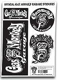 Gas Monkey Garage Aufkleber set GMG monkey Logo Nue offiziell