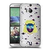 Head Case Designs Alien Abduktion Landschaft Portrait Soft Gel Hülle für HTC One M8 / M8 Dual SIM