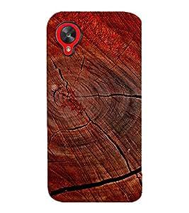 printtech Wood Block Design Back Case Cover for LG Google Nexus 5::LG Google Nexus 5 (2014 1st Gen)