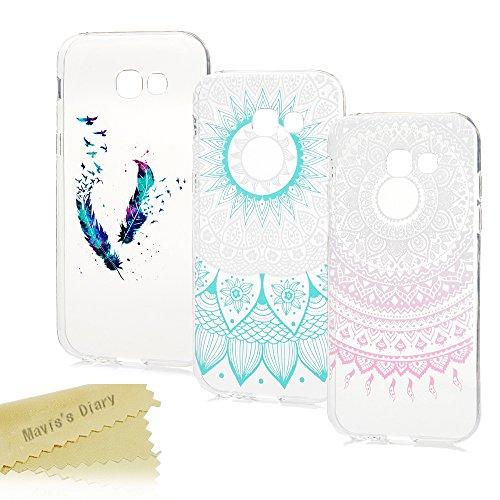 Handyhülle für Samsung Galaxy A3 2017 Hülle Case Mavis's Diary 3x Tasche Schutzhülle TPU Softcae Fall Euit Back Cover Bumper Handytasche Scratch Telefon-Kasten Handyhülle Handycover