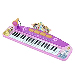 CLAUDIO REIG- Princesas Disney órgano electrónico 58x28 Teclado, Color Rosa (5285.0)