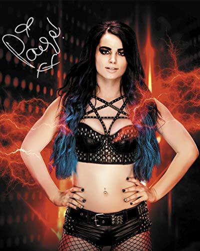 FRAME SMART Paige #3 WWE  gedrucktes Unterschriftenfoto   10x8 Größe passt 10x8 Zoll Rahmen   Fotoqualität Labordrucker   Fotoanzeige   Geschenk Sammlerstück