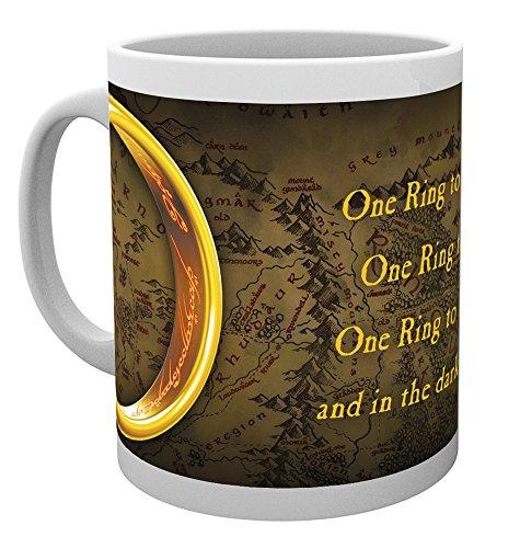 GB Eye LTD, El Señor de los Anillos, One Ring, Taza