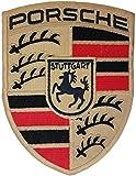 Wardah Limitata Porsche Stuttgart Grande Logo Ricamato Toppa da Cucire...