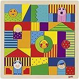 Goki - Mosaico granja de madera, 43 piezas (Gollnest & Kiesel 58659.0)