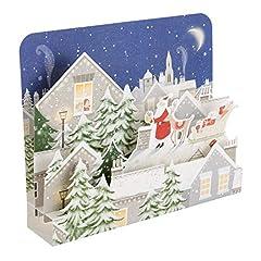 Idea Regalo - Hallmark 25501737lusso pop up biglietto di Natale