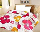 Lali prints Big Floral quilt Blue A.C Bl...