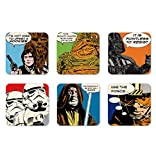 Film - Star Wars - Comic - Ensemble de sous-verres - Ensemble de 6 dessous de verre - multicolore - Design original sous licence - Logoshirt