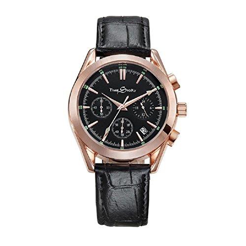 bracelet-en-cuir-quartz-montre-homme