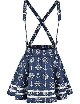 Rockabella Alexis Skirt Minifalda Azul