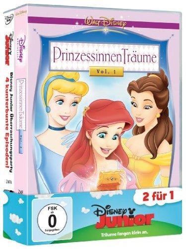Disney Junior Pack 11: Prinzessinnen Träume - Ein Geschenk des Herzens + Disney Junior Überraschungsparty [2 DVDs] (Dvd Prinzessin Disney)