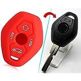 mebare (TM) accesorios para 1998–2005para BMW X3X5Z3Z4357serie E38E39E46E83silicona clave remoto caso para Fob SSE protectora