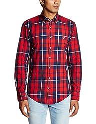 Gant Mens Casual Shirt (8907259491110_GMSIF0085_XXLarge_Yale Blue)
