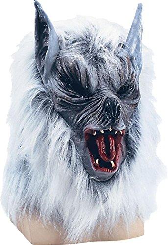 Kostüm Wolf She - Halloween Fancy Party Zubehör Kostüm Tier Overhead Sie oder Killer Wolf Maske