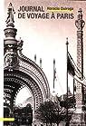 Journal de voyage à Paris par Quiroga