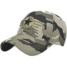DEELIN Sombrero para Las Mujeres Hombres W Letra ImpresióN Ajustable Sombrero De BéIsbol Carta SóLido Hip