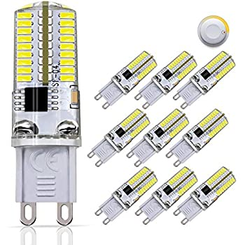 Dicuno G9 Dimmable Led Light Bulbs 6w 60w Halogen
