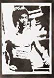 Bruce Lee Handmade Street Art - Artwork - Poster