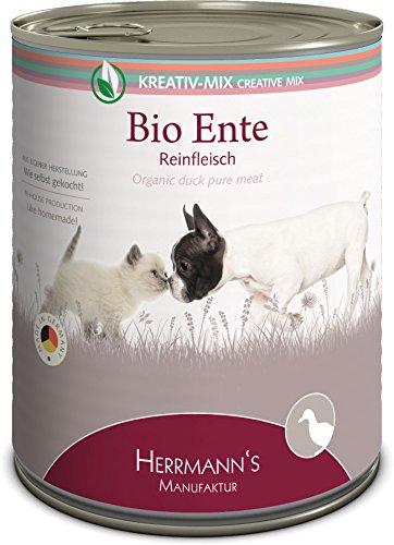 Herrmann Bio Ente 100 Prozent, 6er Pack (6 x 800 g) -
