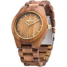 migliore vendita moda firmata grande collezione Amazon.it: orologio legno uomo - Ammissibili di spedizione ...