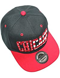 CHICAGO Stars & Stripes RED SNAPBACK CAP ROT