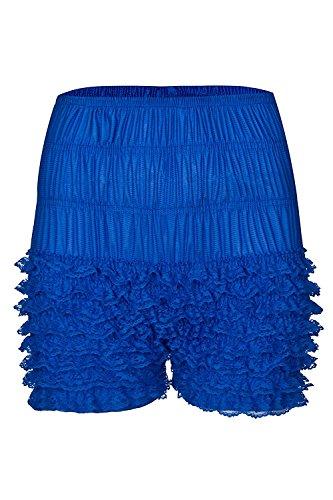 FOLOBE Damen Lace Leggings sexy mehrschichtige Rüschen Panties Sexy Pettipants Shorts
