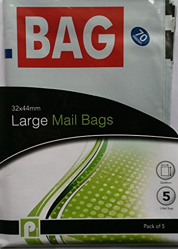 10große Mail Staubbeutel/2Packungen von 5 (Clear Stamp Holder)